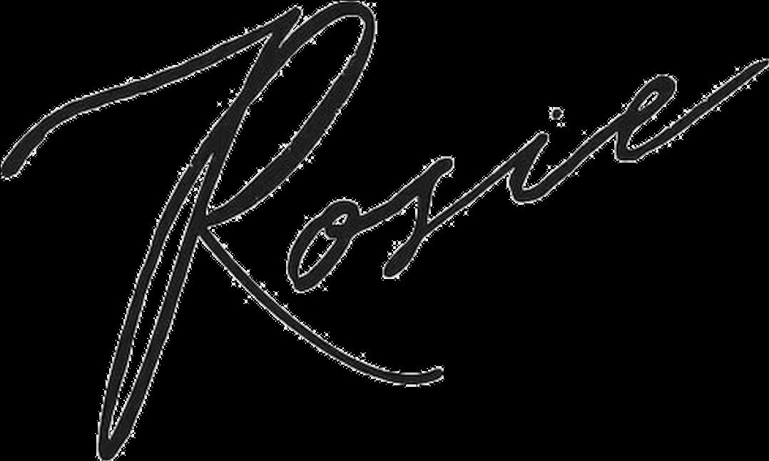 Logo rosie sans fond